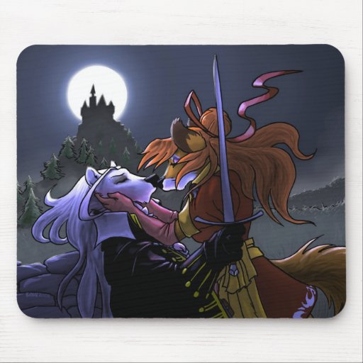 Priam y jengibre - el caballero tapete de raton