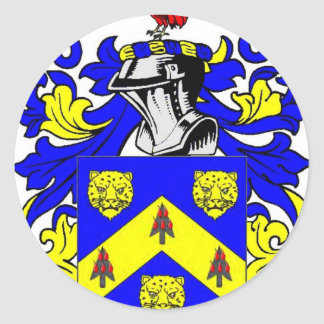 Price Coat of Arms Classic Round Sticker