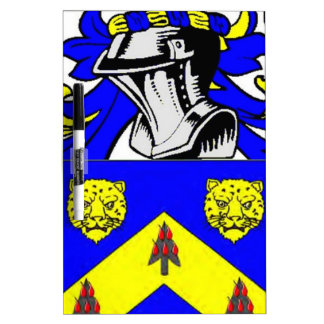 Price Coat of Arms Dry Erase Board