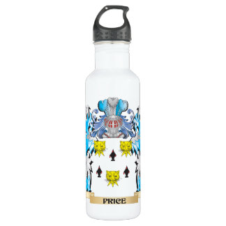 Price Coat of Arms - Family Crest 24oz Water Bottle