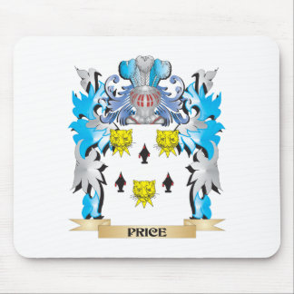 Price Coat of Arms - Family Crest Mouse Pad