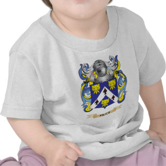 Price Coat of Arms (Family Crest) Tee Shirts