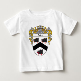 Price Coat of Arms Wales (Mantled) Baby T-Shirt
