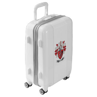 Price Family Crest Coat of Arms Luggage