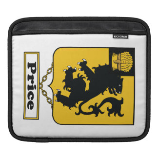 Price Family Crest iPad Sleeve