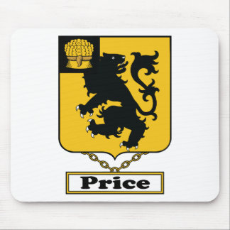 Price Family Crest Mouse Pad
