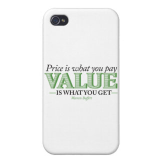 Price is what you pay Value is what you get Case For iPhone 4