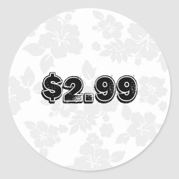 Professional Business Price Label