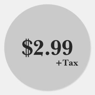 Price Label Sticker