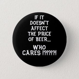 Price of Beer - Black Button