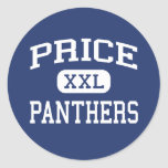 Price Panthers Middle San Jose California Sticker
