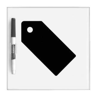 Price Tag Dry Erase Boards
