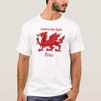 Price Welsh Dragon T-Shirt