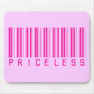 Priceless Barcode Mouse Pad