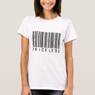 Priceless - Barcode - Shirt