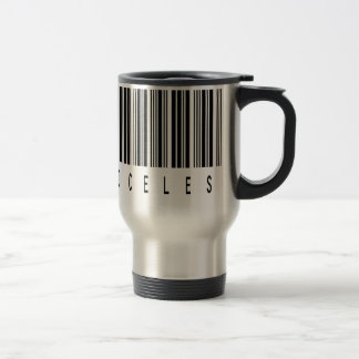 priceless barcode travel mug