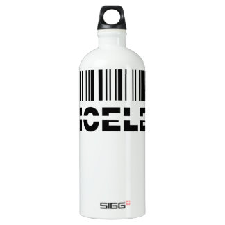 priceless barcode water bottle