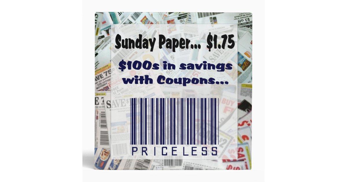 Priceless coupons