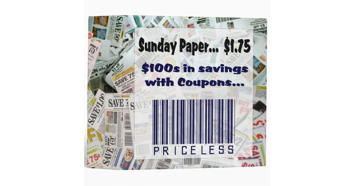 Priceless coupons