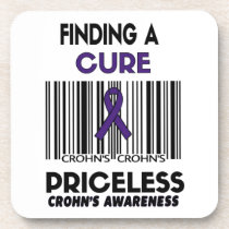 Priceless...Crohn's Drink Coaster