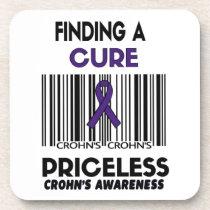 Priceless...Crohn's Drink Coaster