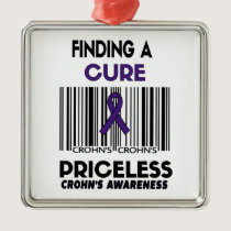Priceless...Crohn's Metal Ornament