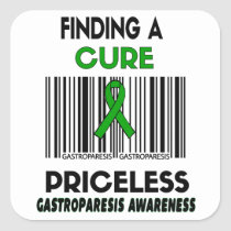 Priceless...Gastroparesis Square Sticker