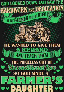 God Made A Farmer Gifts On Zazzle
