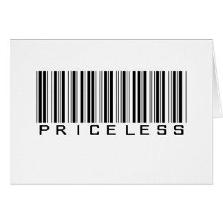Priceless Greeting Cards