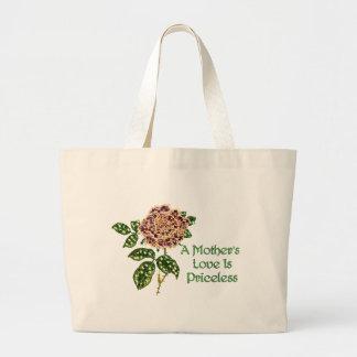 Priceless Love Large Tote Bag