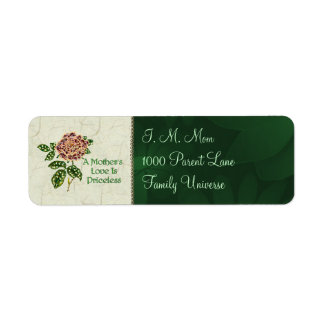 Priceless Love Return Address Label