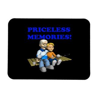Priceless Memories Rectangular Magnets
