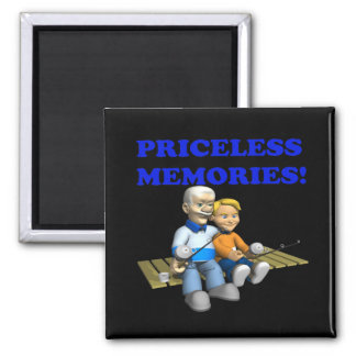 Priceless Memories Refrigerator Magnet