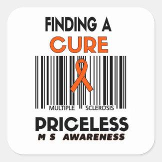 Priceless...MS Square Sticker
