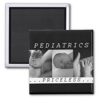 Priceless - Pediatrics - BABY / INFANT - NURSE 2 Inch Square Magnet