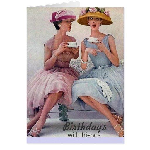 Priceless Vintage Birthday Card Note Card