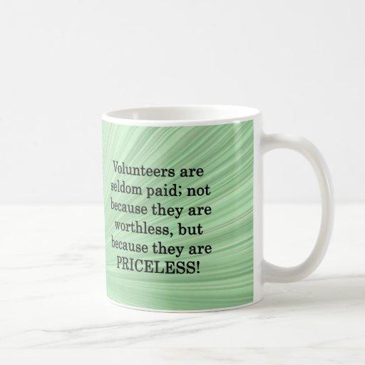 Priceless Volunteers Mugs