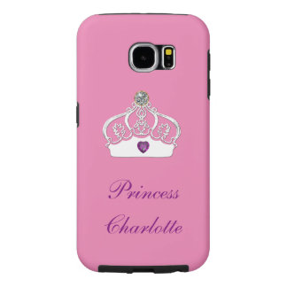 Pricess Charlotte Royalty Samsung Galaxy S6 Cases