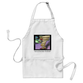 Pricey Heavenly Stairway Funny Adult Apron