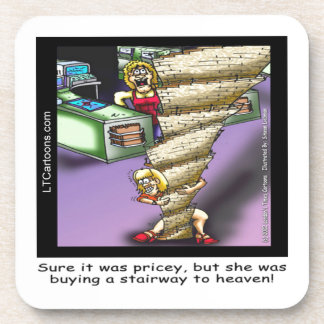 Pricey Heavenly Stairway Funny Coaster