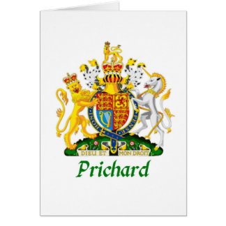 Prichard Shield of Great Britain Card