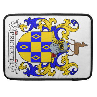 Prickett Coat of Arms I Sleeve For MacBook Pro