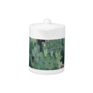 Prickley Pear Cactus Teapot