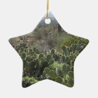 Prickley Pear Ceramic Ornament