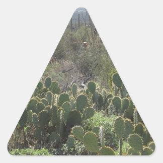 Prickley Pear Triangle Sticker