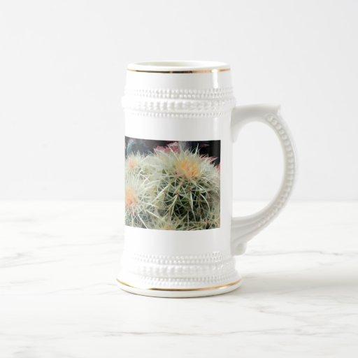 Prickly Barrel Cactus 18 Oz Beer Stein