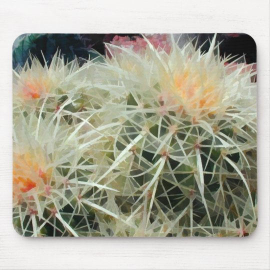 Prickly Barrel Cactus Mouse Pad
