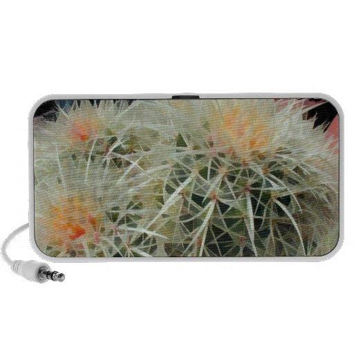 Prickly Barrel Cactus Portable Speaker
