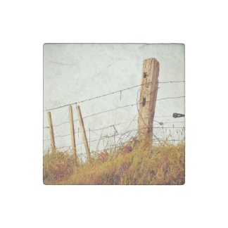 prickly filtered fence stone magnet