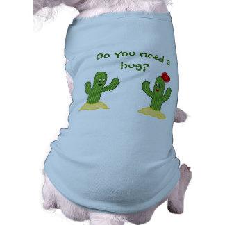 Prickly Pair Cartoon Cactus Guy & Gal T-Shirt